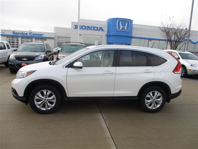 2013 Honda CR-V EX-L available in Iowa City and Rapid City